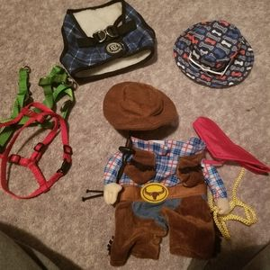 Lot of small dog items